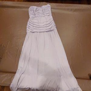Bridesmaid dress grey